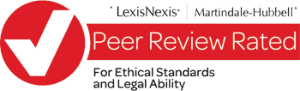 LexisNexis Peer Review Rated for ethical standards and legal ability